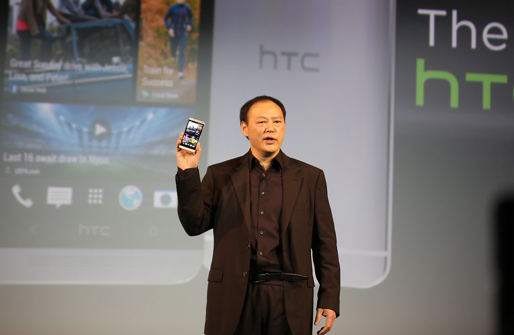 Vi er ikke redd for å ta sjanser, sa HTC-sjefen Peter Chou på pressekonferansen i London når han avduket selskapets nye toppmodell. Det har han nok rett i.