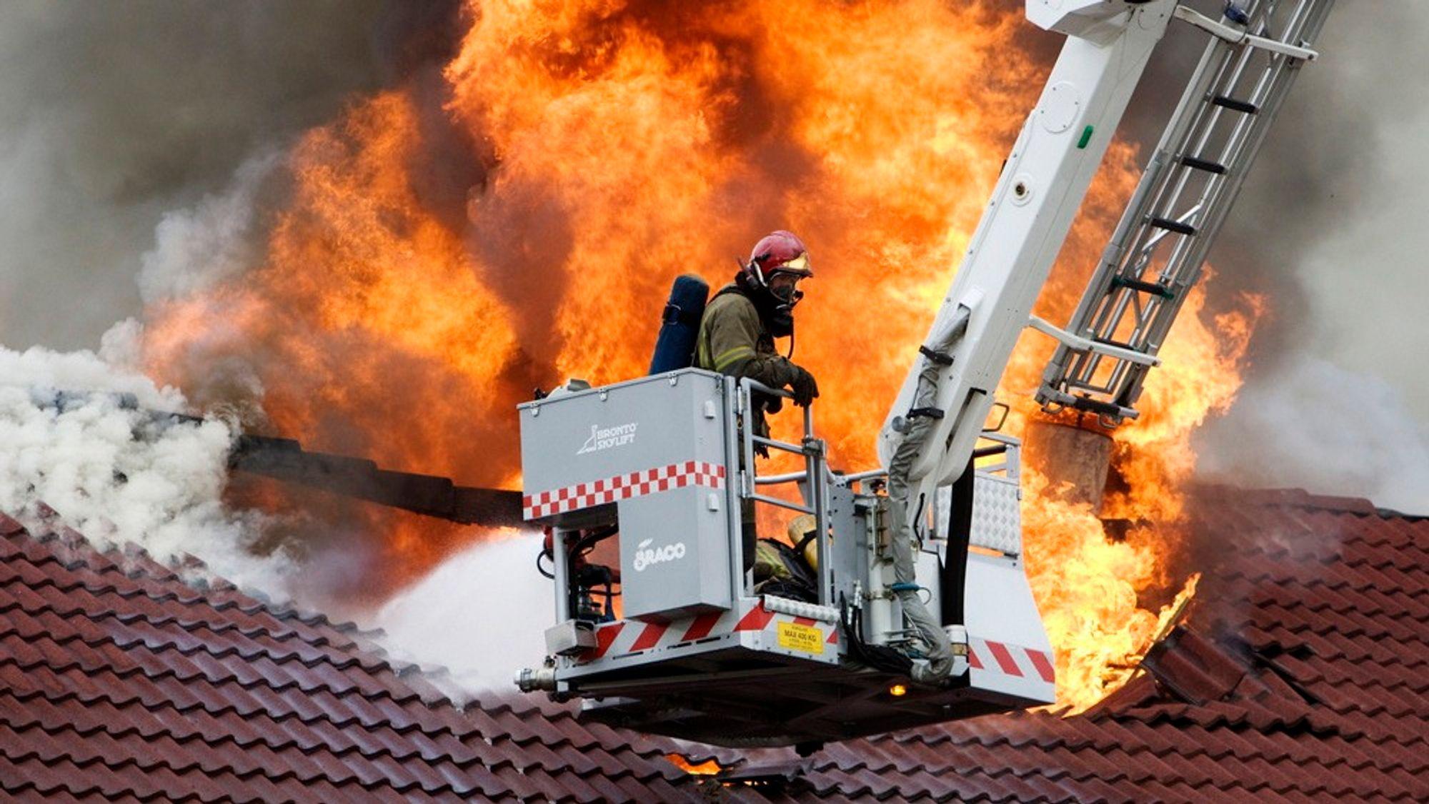 Skummel økning: I slutten av november hadde 55 personer omkommet på grunn av brann i år. En betydelig økning fra de 40 som omkom på grunn av brann i hele 2012.