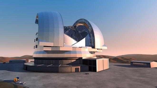 Bygger verdens største teleskop