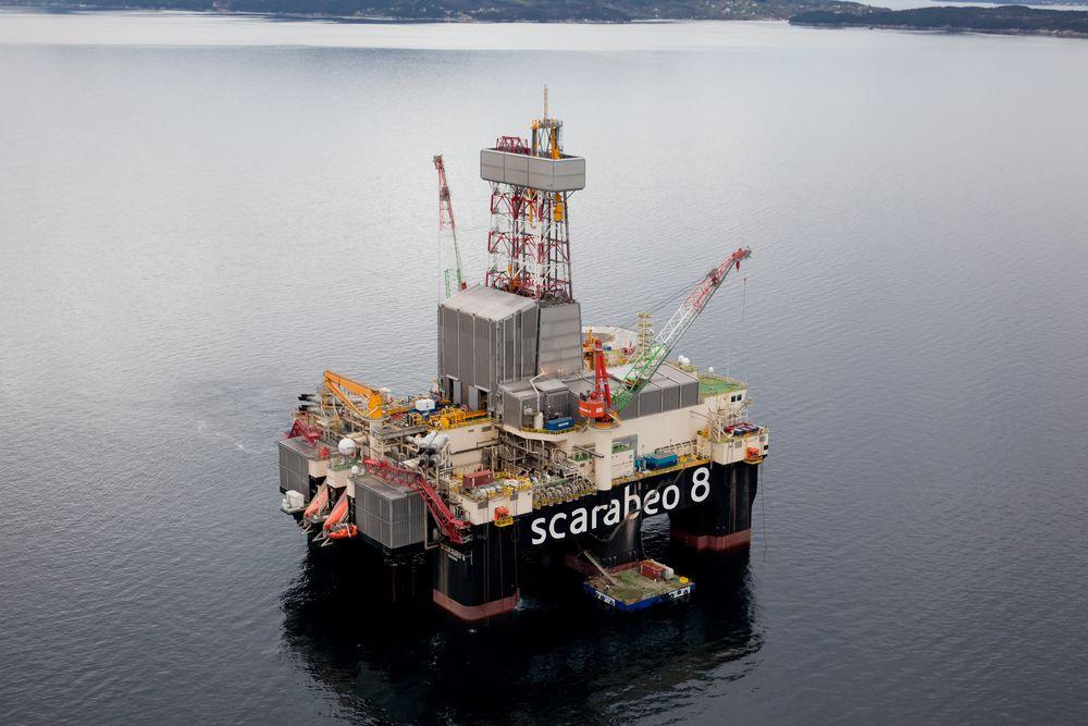 Saipems Scarabeo 8 er blant riggene som kan bli rammet av streik.