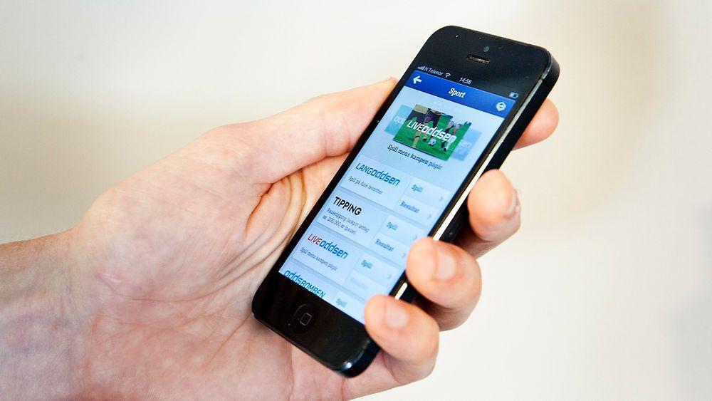 Datatrøbbelet må ses i sammenheng med en større vekst enn forventet av kunder som ønsker å spille via mobil.