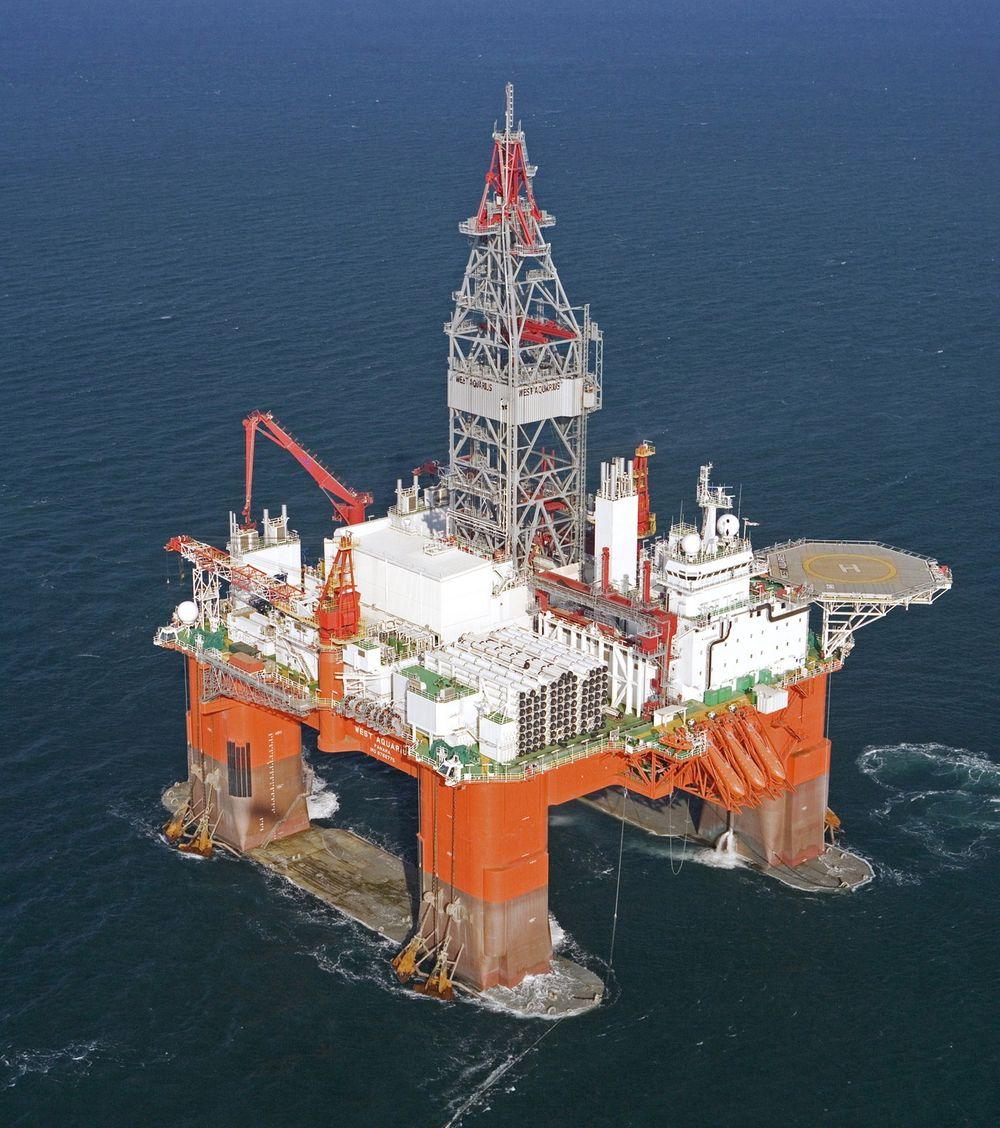 West Aquarius har gjort et betydelig funn for Statoil offshore i Canada.