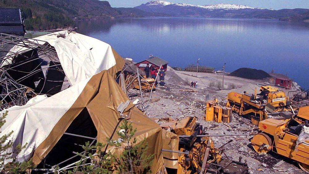Kobolt 60 ble oppdaget ved de nedlagte gruvene i Raudsand i Møre og Romsdal. (Arkivbilde)