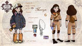 Når Merryn finner en dykkerdrakt vil hun også kunne bevege seg utenfor ubåten.