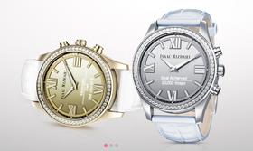 Klokken kommer i både gull- og sølvutgave.