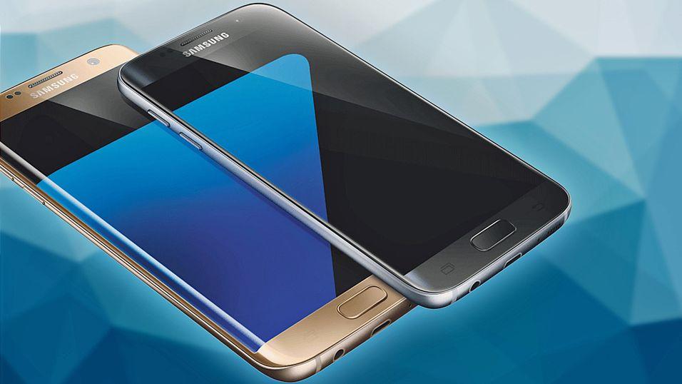 Dette kan være det første «offisielle» bildet av Galaxy S7 og S7 Edge.