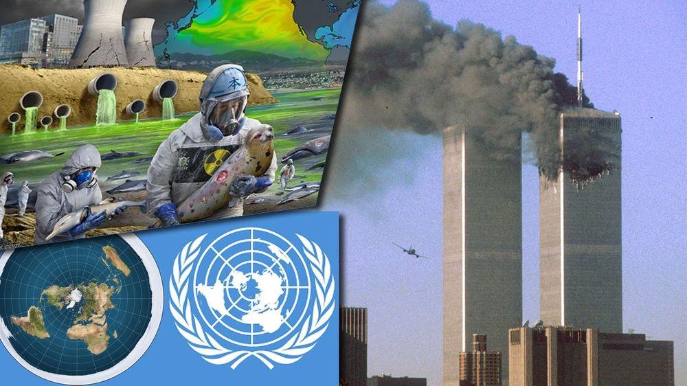 Er havet ødelagt for alltid? Er Jorden flat? Og hvem sto egentlig bak 9/11-angrepet? Internett har svaret!