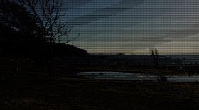 Slik ser Søndre Jeløy i solnedgang ut med filteret til Facebook på plass. Det er dog mulig at litt lysere bilder egner seg bedre til formålet.