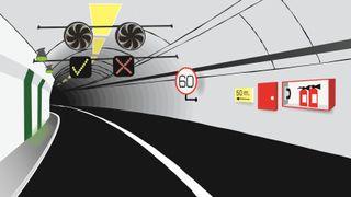 7 systemer skal gjøre tunnelen til en av de sikreste i landet