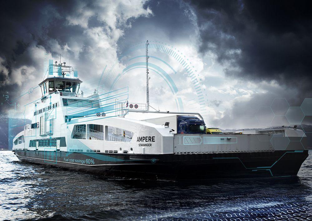 Batterifergen Ampere er et resultat av et samarbeid mellom maritim sektor og Statens vegvesen - et symbol på økte muligheter til innovasjon gjennom offentlige anskaffelser.