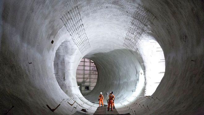 Tunnelboremaskinene har gravd 4,2 mil under London