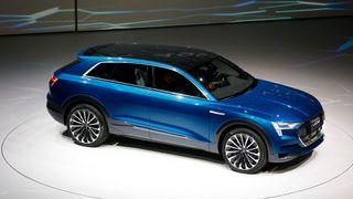 Audis nye el-SUV får 500 km rekkevidde