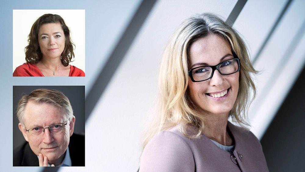 Arvid Hallén, Forskningsrådet, Anita Krohn Traaseth, Innovasjon Norge, Kristin Skogen Lund, Næringslivets Hovedorganisasjon (NHO) skriver om sine syn på omstillingen Norge står ovenfor.