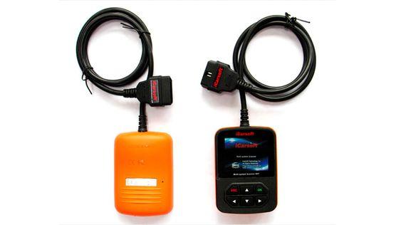 Dette diagnoseverktøyet fra iCarsoft er tilpasset enkelte bilfabrikanter. Det lar deg lese ut batteridata fra støttede elbiler.