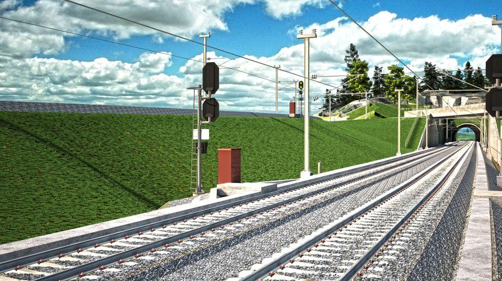 Bruken av 3D vil, ifølge Jernbaneverket, redusere kostnadene ved å bygge jernbane med mer enn ti prosent.