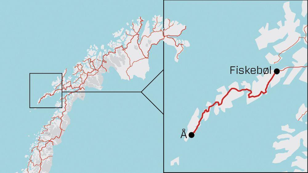 Statens vegvesen anbefaler et alternativ som kutter reisetiden på den 160 kilometer lange strekningen med 45 minutter.
