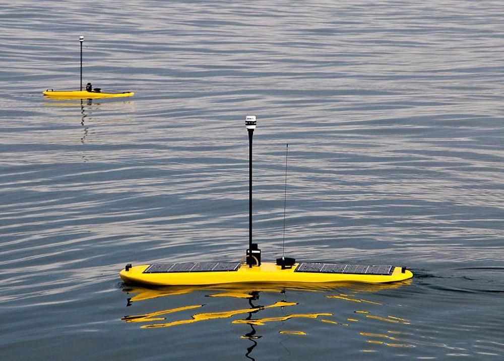ConocoPhilips har i sommer samlet inn meteorologiske data og informasjon om forholdene iBarentshavet. Det har de gjort ved hjelp av seks selvgående, robotiserte farkoster, som nærmest ser ut som surfebrett.