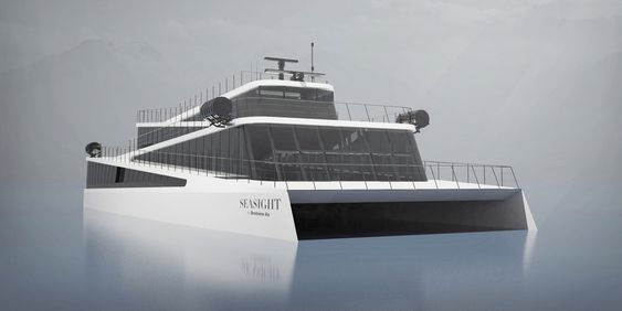 Spektakulært skip for spektakulære fjorder og fjell.