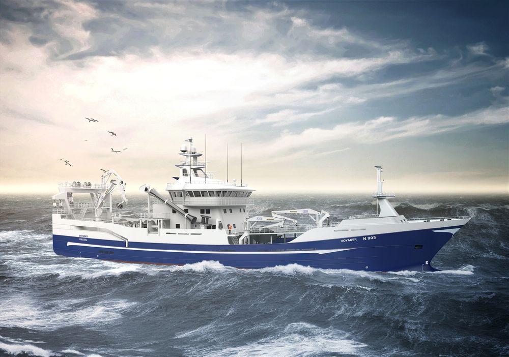 Salt Ship Design utvider porteføljen med en snurper/tråler. Skipet skal leveres i 2017 til det Nord-irske rederiet Voyager Fishing Company.