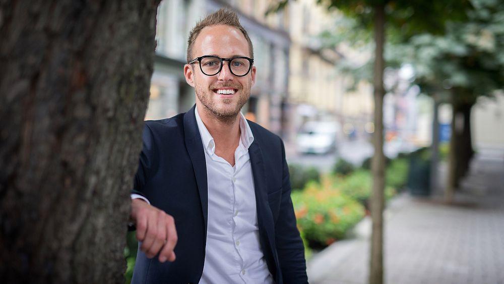 Christoffer Hovde., bidragsyter. Foto: Eirik Helland Urke