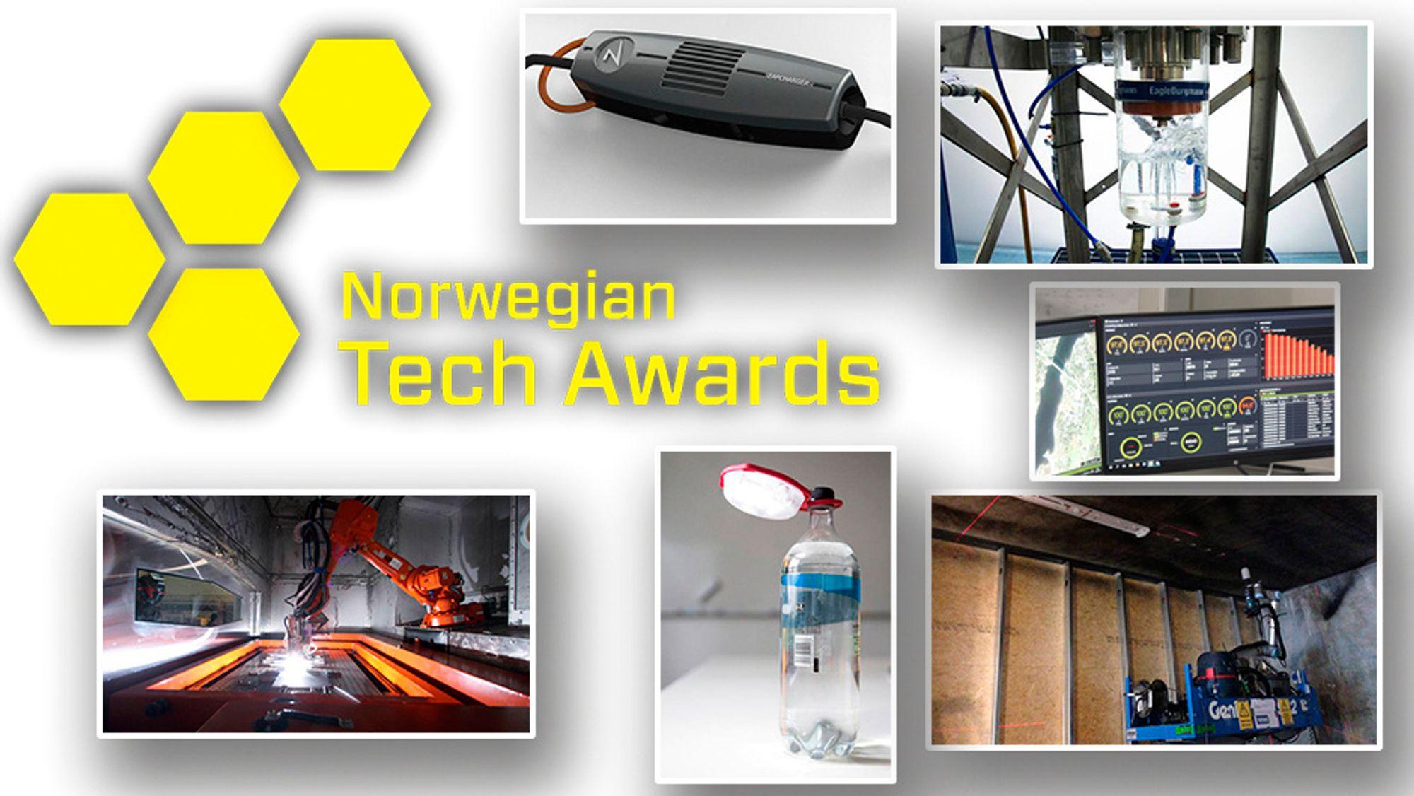 Nå kan du stemme: Hvem fortjener Norwegian Tech Award 2015? Gi din stemme nederst i saken.