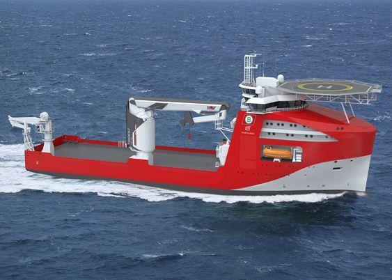 Noryards NY100 – et IMR-fartøy Noryards Fosen skal levere til BOA Offshore i mars 2017. Opprinnelig ble skipet bestilt med en 150-tonns NOV-kran med stålwire. Det er nå endret til en NOV Trident med fibertau som kan løfte 150 tonn og sette ned på 3000 meter. Dermed kan skipet også fungere som konstruksjonsskip. Bruksområdet øker, uten at skipet blir større.