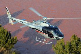 Et Airbus Helicopters H125, identisk med det som havarerte på Hjerkinn i fjor.