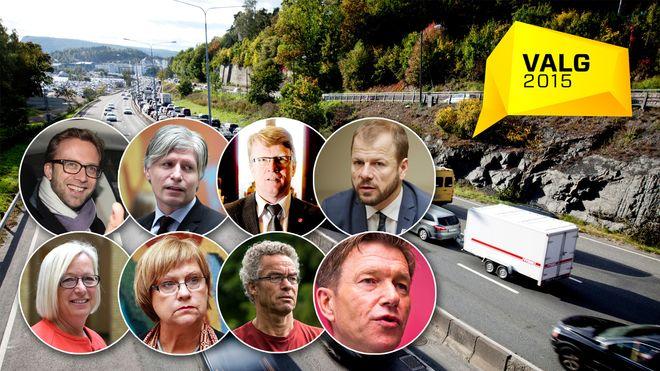 Slik ser politikerne for seg å løse den enorme trafikkveksten på E18