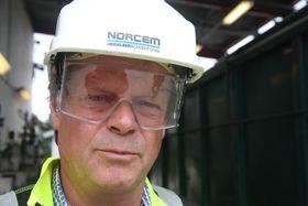 Direktør Per Brevik, med ansvar for alternative brensler og bærekraft i Norcem, går inn for Akers teknologi.