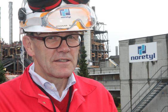 Administrerende direktør Magnar Bakke i Noretyl savner industrielt engasjement og forståelse i regjeringen.