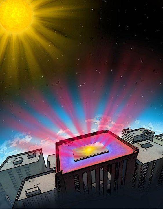 Ved å benytte fotoniske silikakrystaller kan varme avgis som infrarød stråling med en spesifikk bølgelengde, som passerer atmosfæren lett.