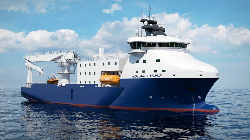 Etter ombygging til spesialfartøy for blant annet vindkraftservice, vil Vestland Cygnus øke bredden fra 20 til 22,4 meter for økt stabilitet. Det blir sengeplass til 134 personer. Skipet er 77 meter langt.