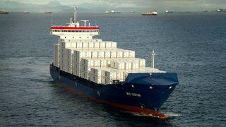 Tysk rederi blir først med å bygge om containerskip til LNG