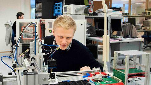 På ti måneder har de ansatt 160 nye ingeniører