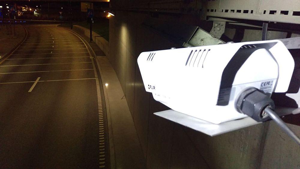 De nye kameraene i Strindheimtunnelen skal gi færre feilmeldinger enn de optiske kameraene som ble montert inn ved åpningen av tunnelen.