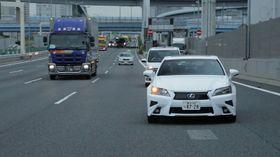 Toyota har demonstrert Highway Teammate på motorveien i Tokyo.