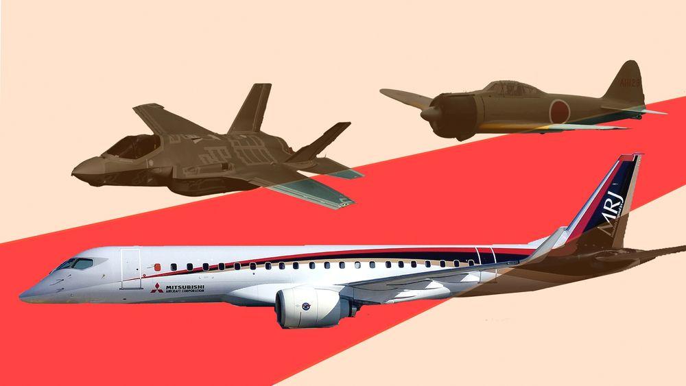 Mitsubishi-konsernets emst kjente fly er nok A6M (Zero). Selskapet skal også stå for sluttmonteringen av japanske F-35A og er i ferd med å sette passasjerflyet MRJ i produksjon.