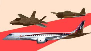 På CV-en har de jagerflyene Zero og snart F-35. Nå bygger de Japans første passasjerfly på over 50 år