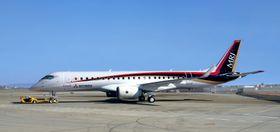 Den første flygningen med MRJ er berammet til en eller annen gang i uke 44.
