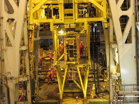 Her er bilde fra kveilerørsboringen til Centrica og Island Offshore.