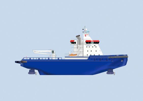 Isbryteren Aker Arc 124 skal bygges ved Vyborg Shipyard for FSUE Atomflot og skal assistere LNG-tankere ved Sabetta havn ved Jamal-halvøya i Sibir.