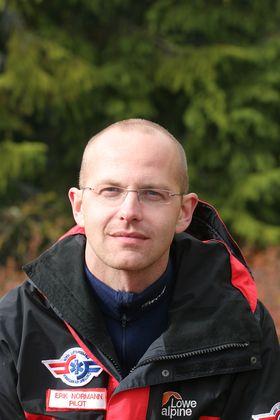 Erik Normann er flygesjef i Norsk Luftambulanse