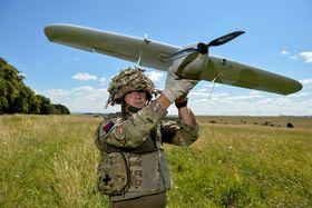 Det britiske forsvaret har brukt Desert Hawk i ti år.