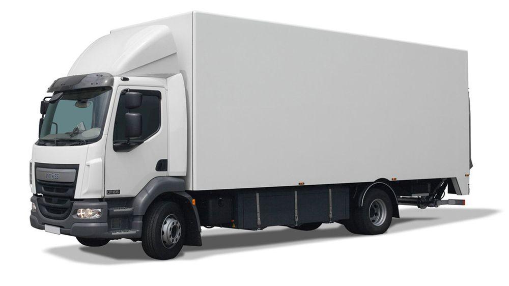 Emoss konverterer fossillastebiler til elektriske lastebiler. Asko har kjøpt tre biler fra produsenten. Foto: Emoss.