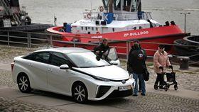 Toyota Mirai ble kjørt 100 000 kilometer på 107 dager i og rundt Hamburg.