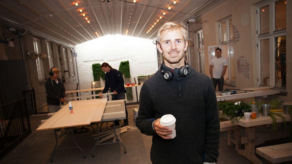Mesh-grunnlegger Anders Mjåset satser på 100.000 besøkende med sitt nye konsept.