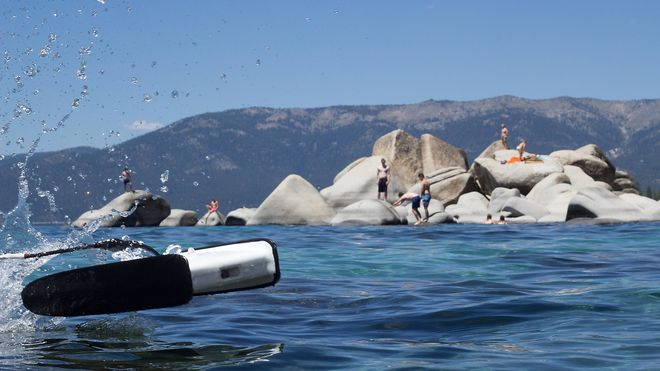 Denne ROV-en kan kjøre i 7.2 km/t, koster 6800 kroner og dykker ned til 100 meter