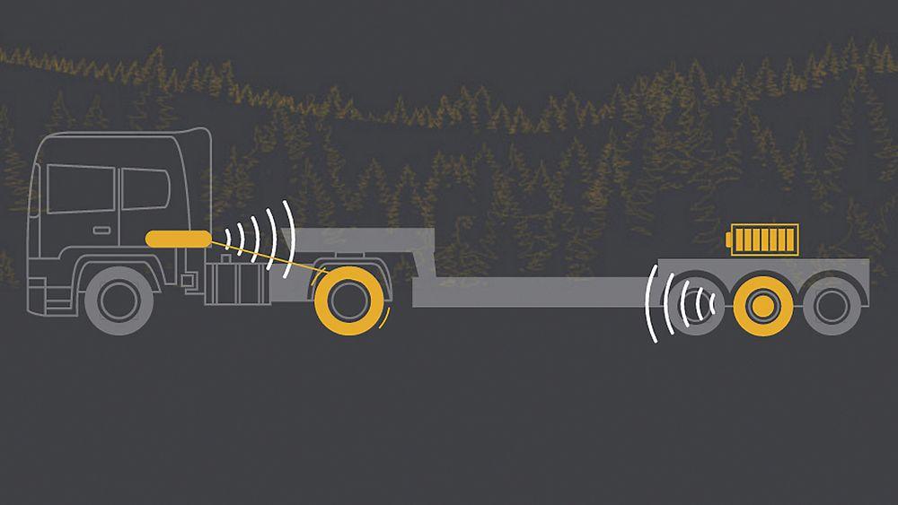 Franske Adgero utvikler en semitrailer med superkondensatorer som lades under bremsing, og driver en elektromotor under aksellerasjon.