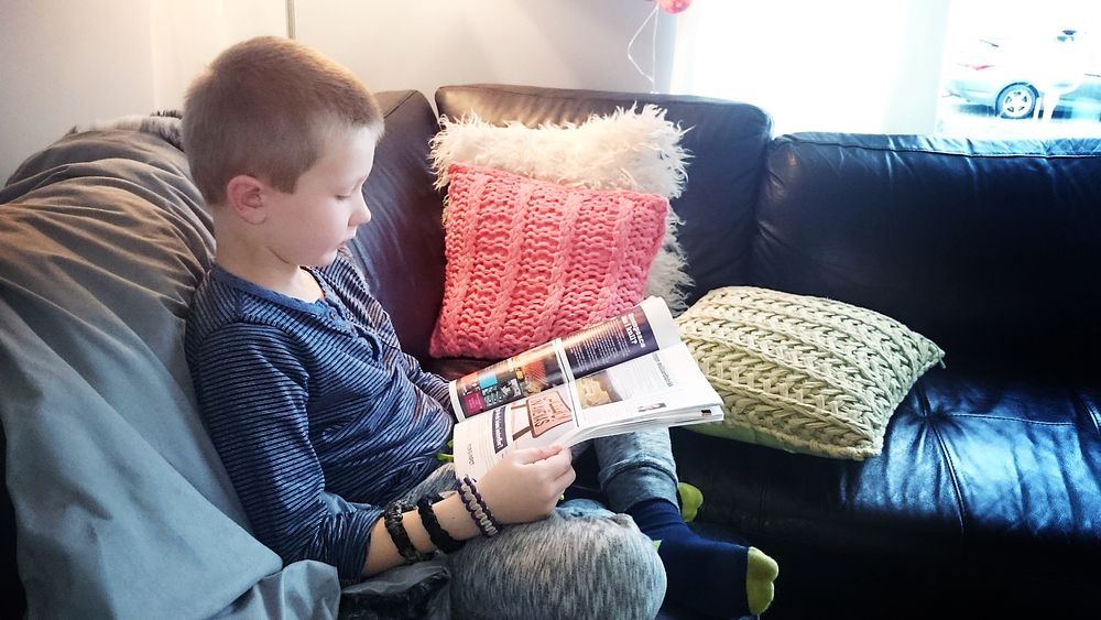Helt fra han var fire år gammel har Andreas Skarmark Jakobsen vært en ivrig leser av Teknisk Ukeblad. Nå vil han bli astronaut.