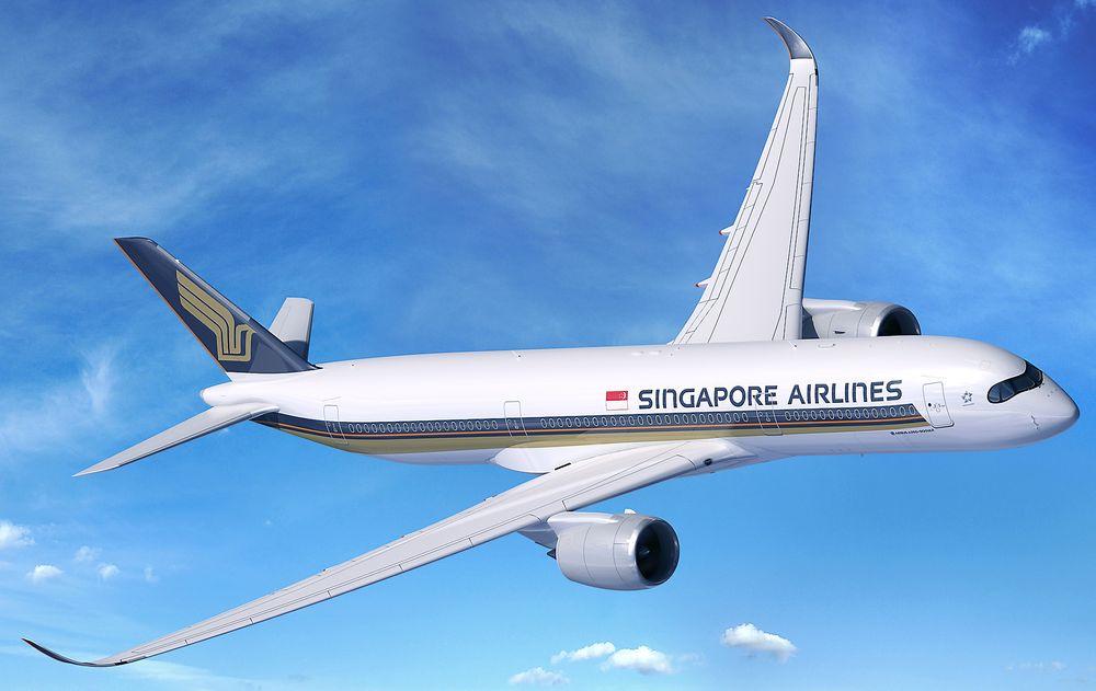 Illustrasjon av A350-900ULR som skal leveres i 2018 med Singapore Airlines som lanseringskunde.